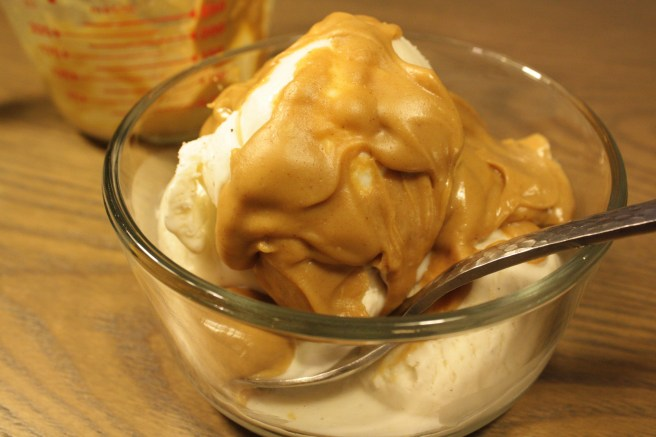Dirty Peanut Butter Sauce