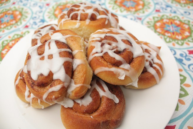 Everything on a Waffle Cinnamon Buns!