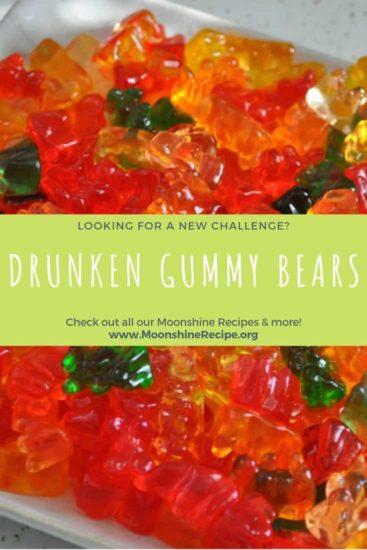Drunken Gummy Bears Recipe