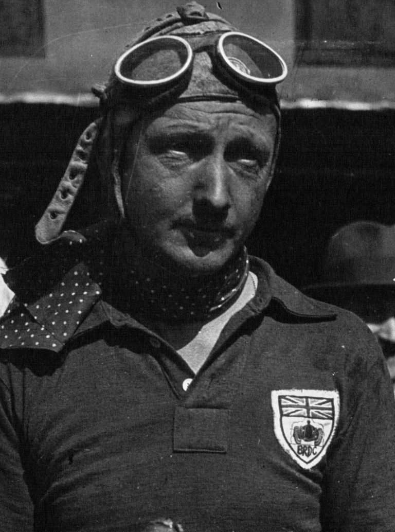 Tim Birkin au 24H du Mans 1931, crédit photo wikipedia