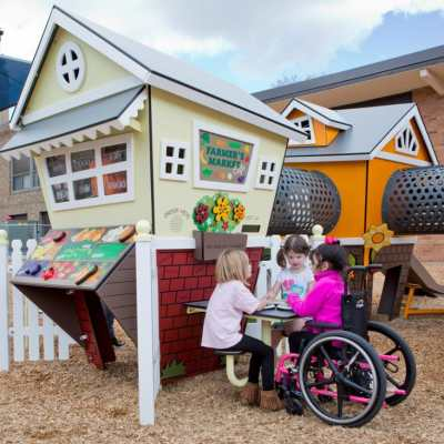 Smart Play Centre playground with kids