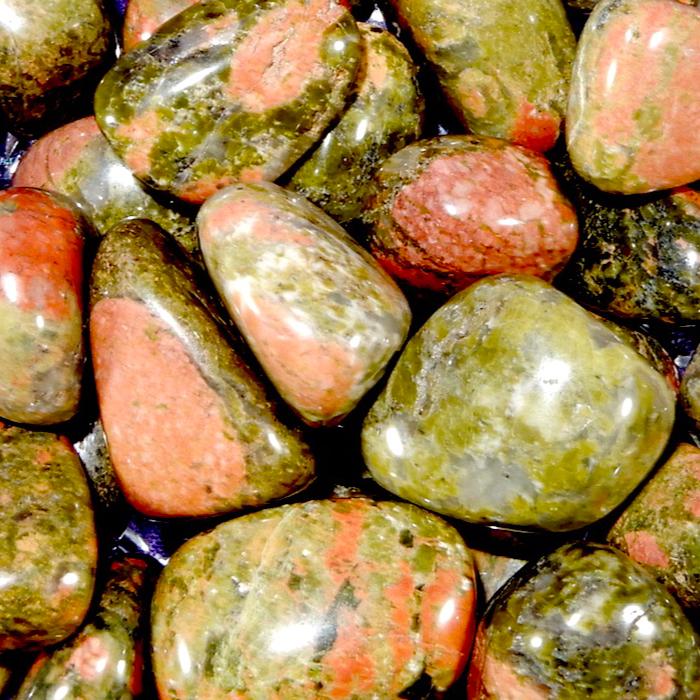 Unakite Healing Stones