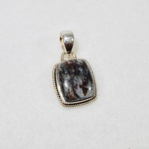 Astrophyllite Small Rectangle Pendant