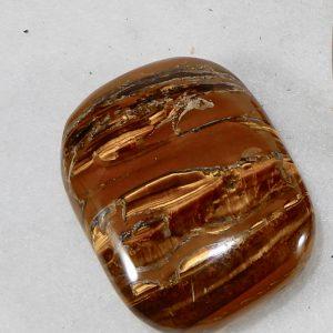 Tiger Eye Small Wish Stone