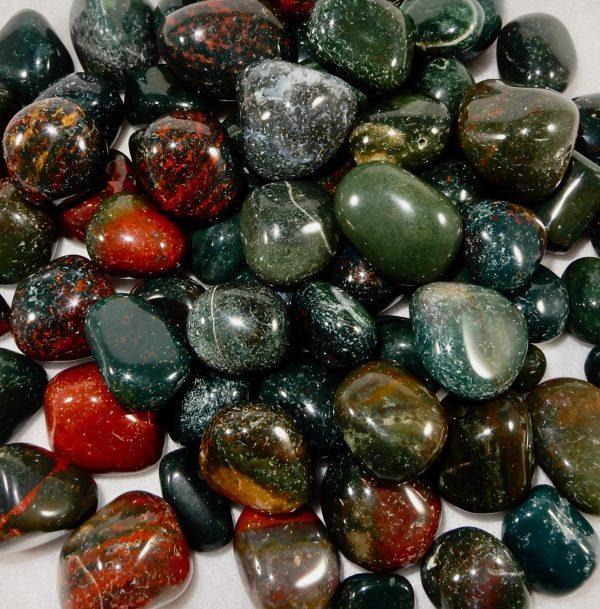 Bloodstone Polished Stones