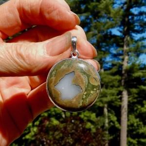 Rainforest Jasper Pendant