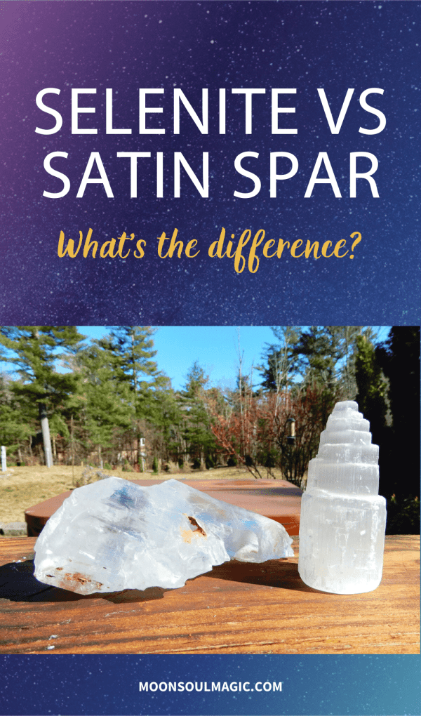 Selenite Vs Satin Spar - What's the Difference