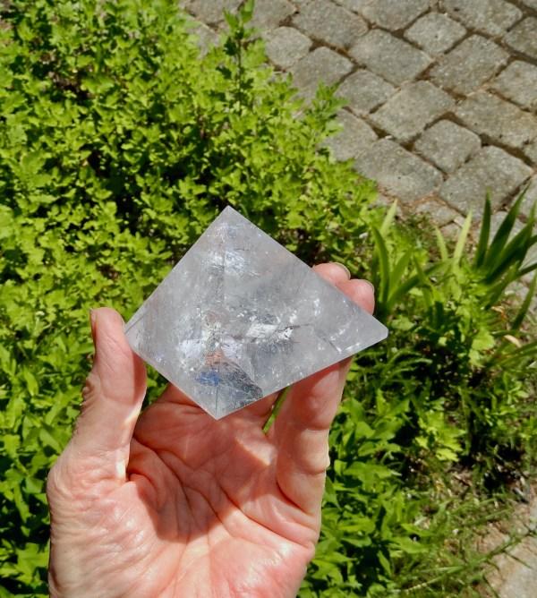 Clear Quartz Pyramid 4