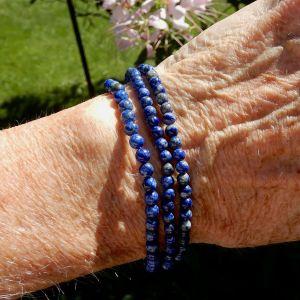 Lapis 4mm bracelets