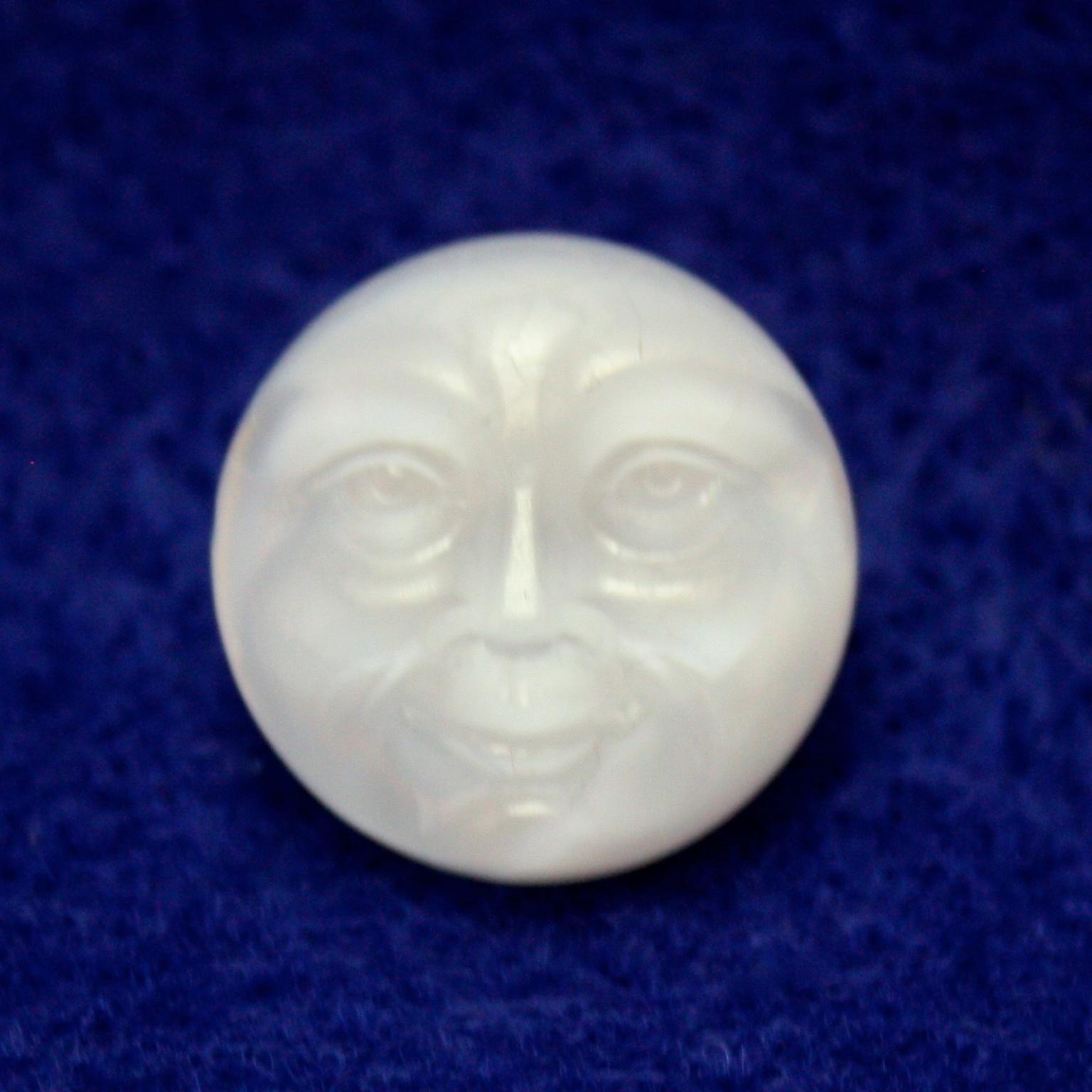 Moon Face: white