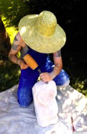 Sculpting under the Sun
