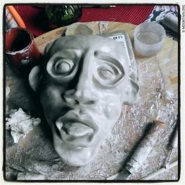 My first clay mask