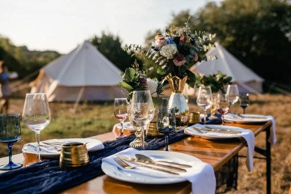 glamping wedding