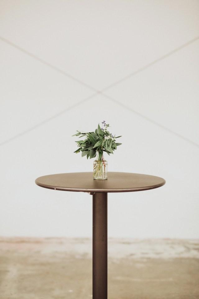 martini cocktail table rental
