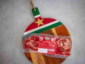 Lufo zoutvlees Surinaamse recepten