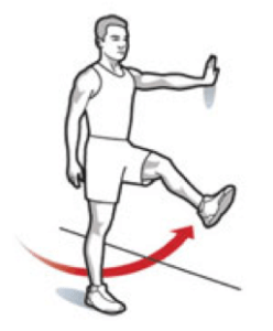 6 Simple Stretches Before You Play Golf - Leg Swings