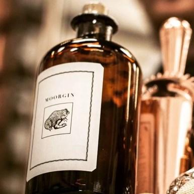 MOORGIN - Gin aus Kolbermoor Apothekerflasche