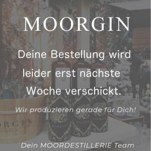 MOORGIN der MOORDESTILLERIE Kolbermoor 2019