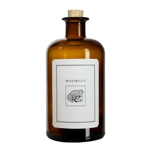 MOORGIN ohne Geschenkdose Retro Apothekerflasche