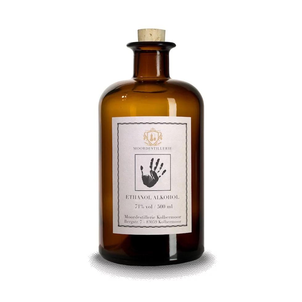 Ethanol Alkohol 71% MOORDESTILLERIE Kolbermoor Desinfektion