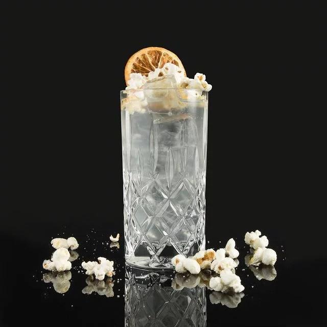 MOORDESTILLERIE Kolbermoor Barcatering Cocktail Popcorn MOORGIN Tonic