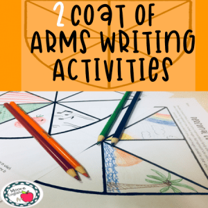 Coat of Arms Writing Activities