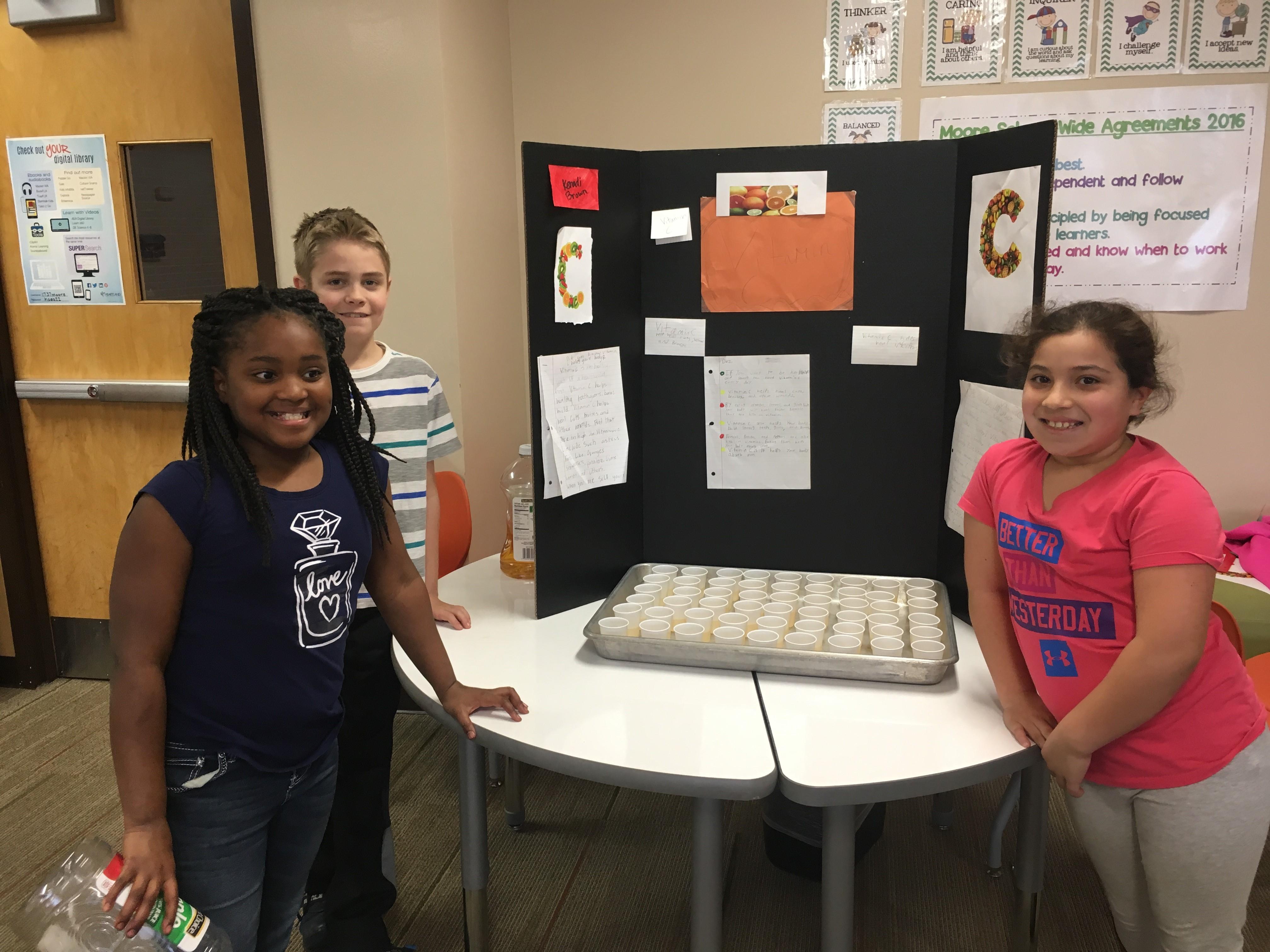 Fourth Grade Health Fair