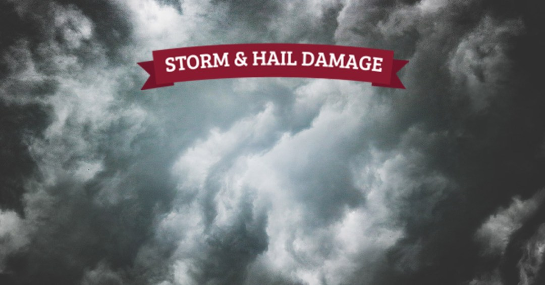 Storm and hail damage