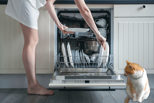 how to load a kitchenaid dishwasher properly moore appliance service