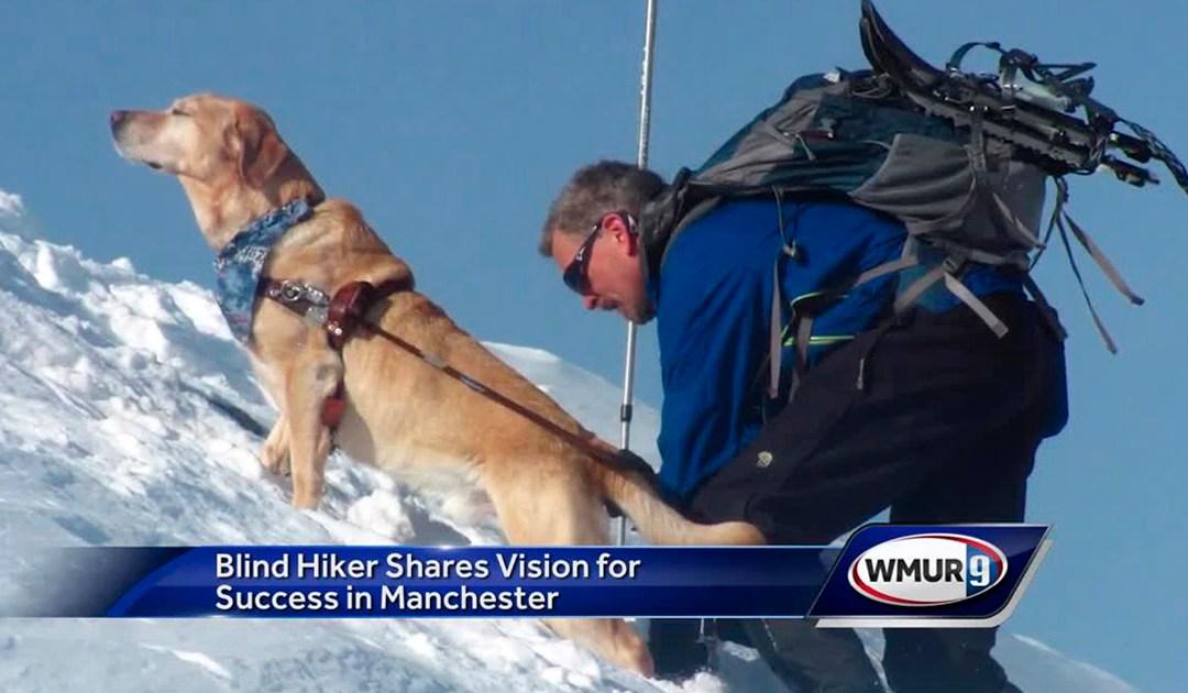 Blind Hiker Randy Pierce Randy Speaks at Annual Celebration