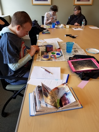 Art Therapy at The Moore Center