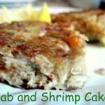 Crab and Shrimp Cakes