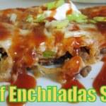 BEEF ENCHILADAS STACK