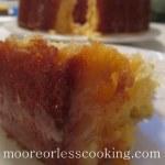 Pineapple Coconut Poke Bundt Cake
