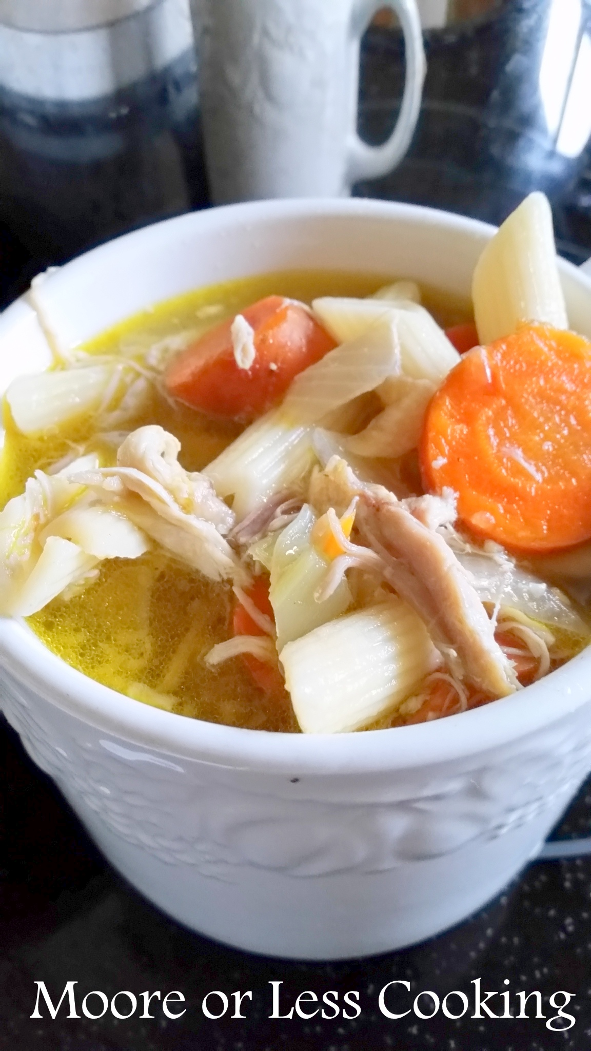 Easy Chicken Noodle Soup in a cup