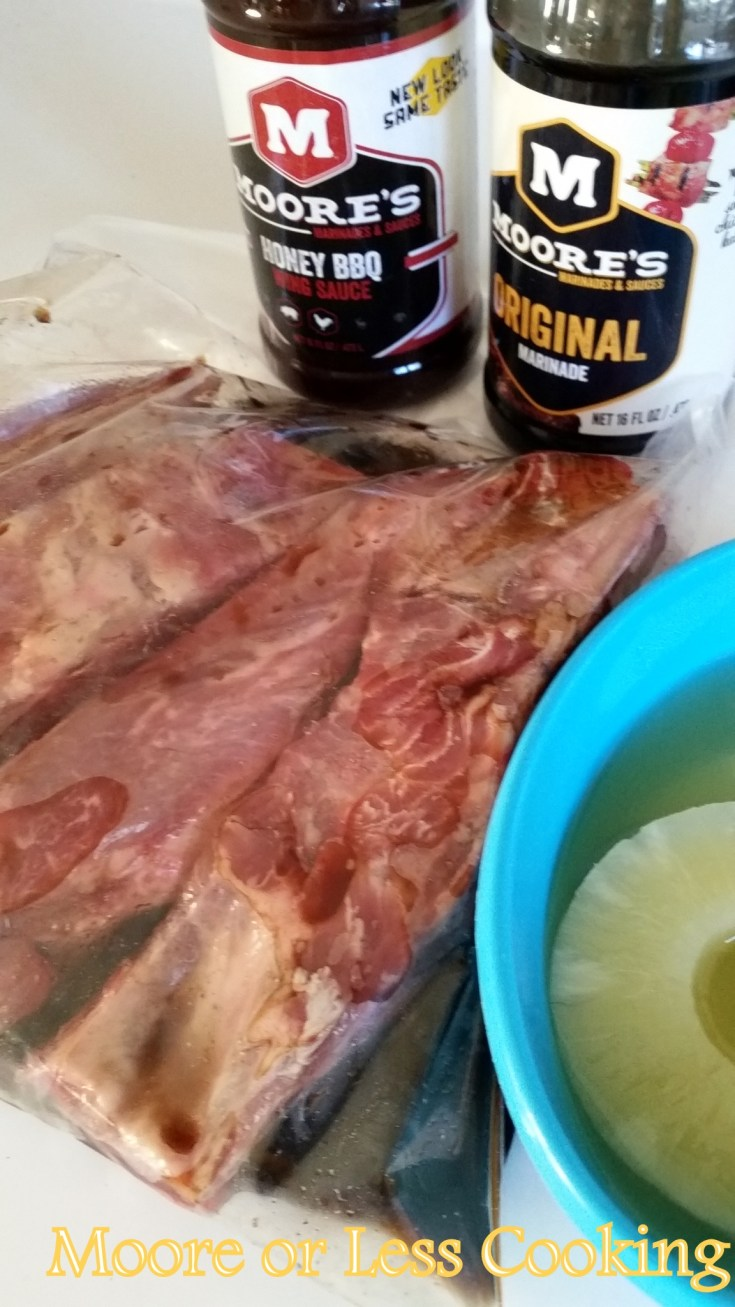 Gimmy Moore's Sweet Pork Ribs