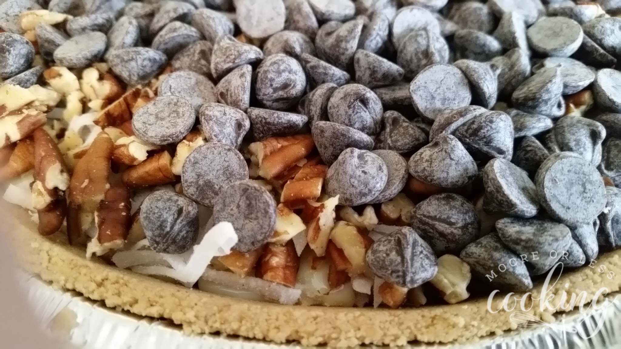 Magic Cookie Bar Pie