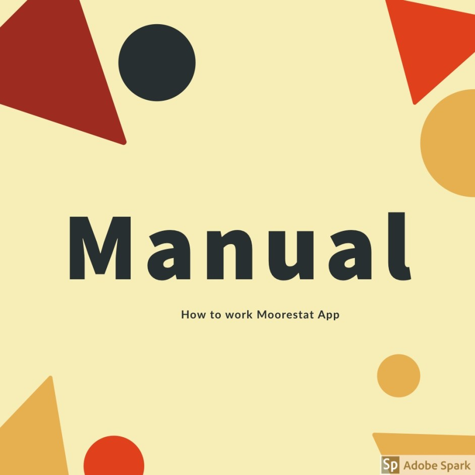 Manual: Moorestat App 2
