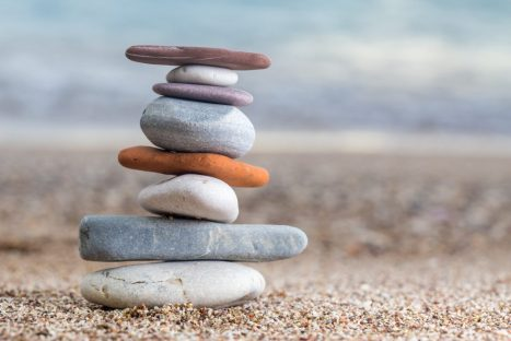 calming rocks