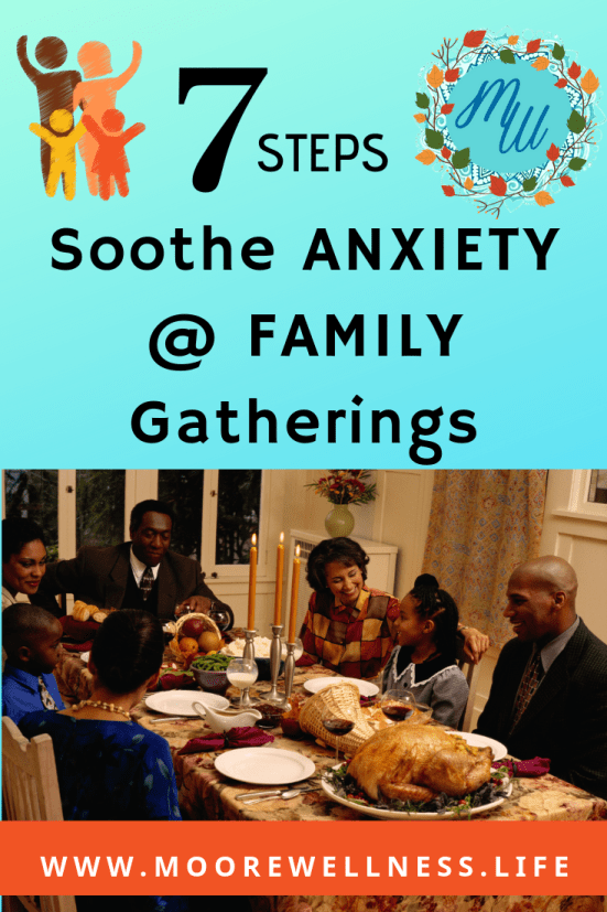 anxiety at family gatherings