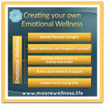 chart of steps of emotional wellness