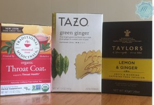 natural teas for sickness