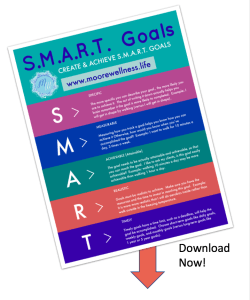 preview of Free Printable S.M.A.R.T. Goals
