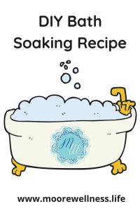 DIY bath soaking recipe