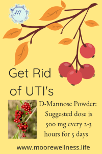 UTI's and D-Mannose Powder