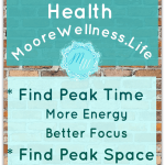 better mental health with peak time and space