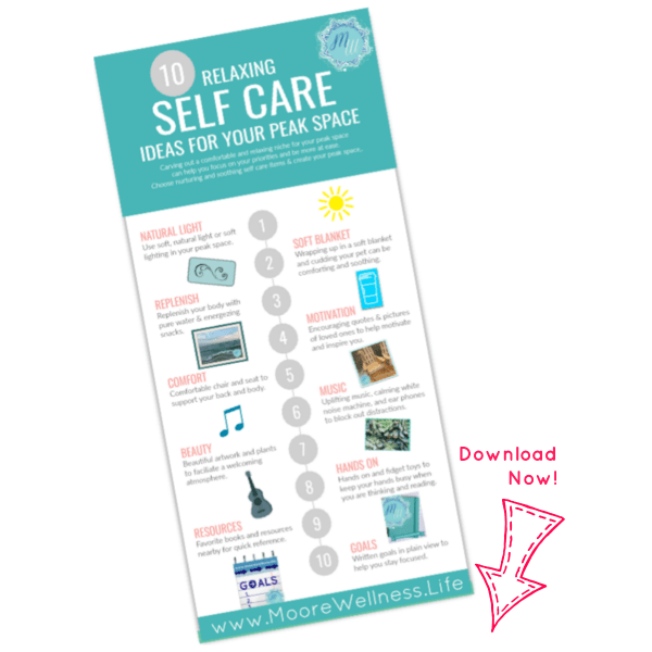 10 relaxing self care ideas
