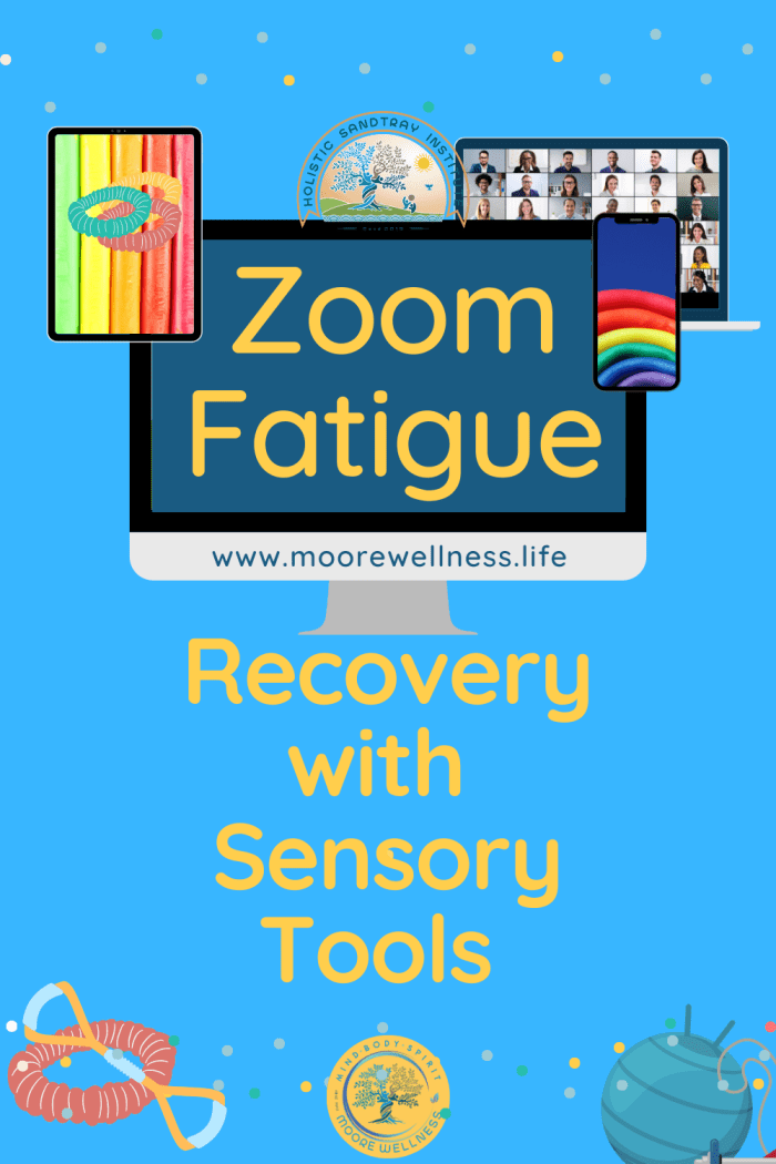 zoom picture with sensory tools