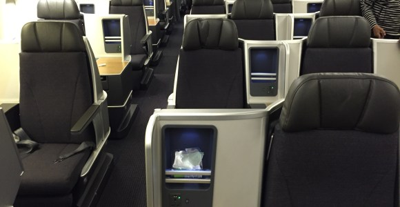 Review: American Airlines Business Class 767