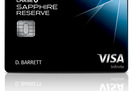 Chase Sapphire Reserve Update